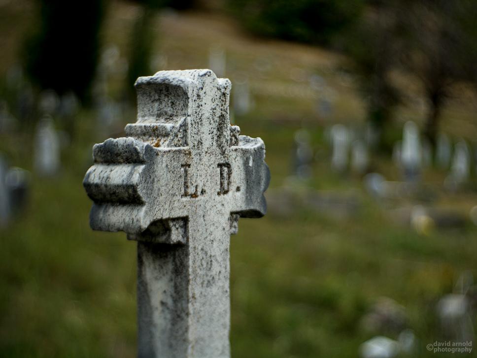 Grave of Louisa Daneri, Downieville Cemetery, Downieville, California