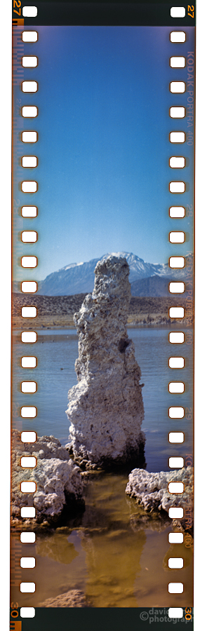 Tufa, Mono Lake (1) with the Kodak Brownie Model B No. 3