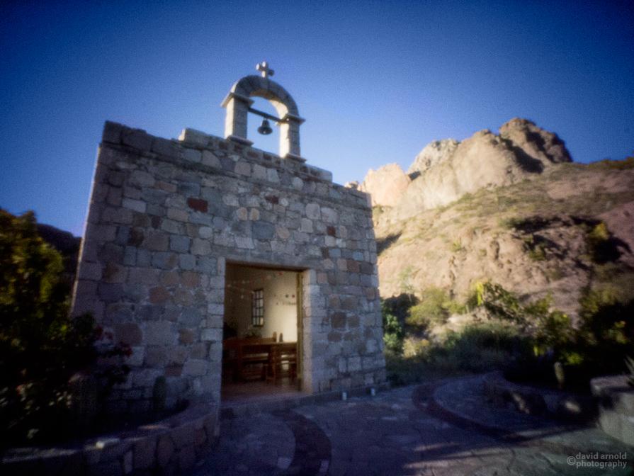 Chapel on Road to Misión San Francisco Javier de Viggé-Biaundó