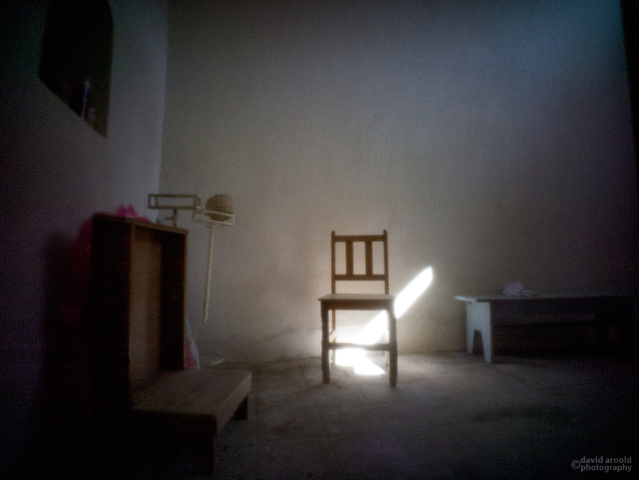 Chair, Anteroom, Misión San Luis Gonzaga Chiriyaqui