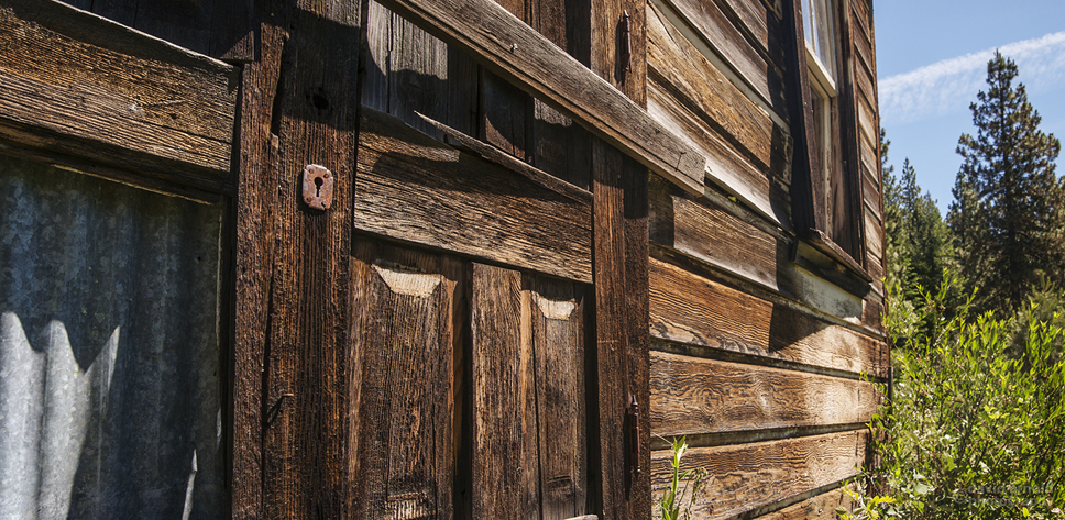 Front Door, Forest City School, Forest City, California