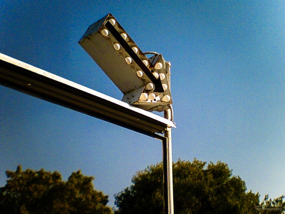 On Blue Street, Highway 20, Marysville, California