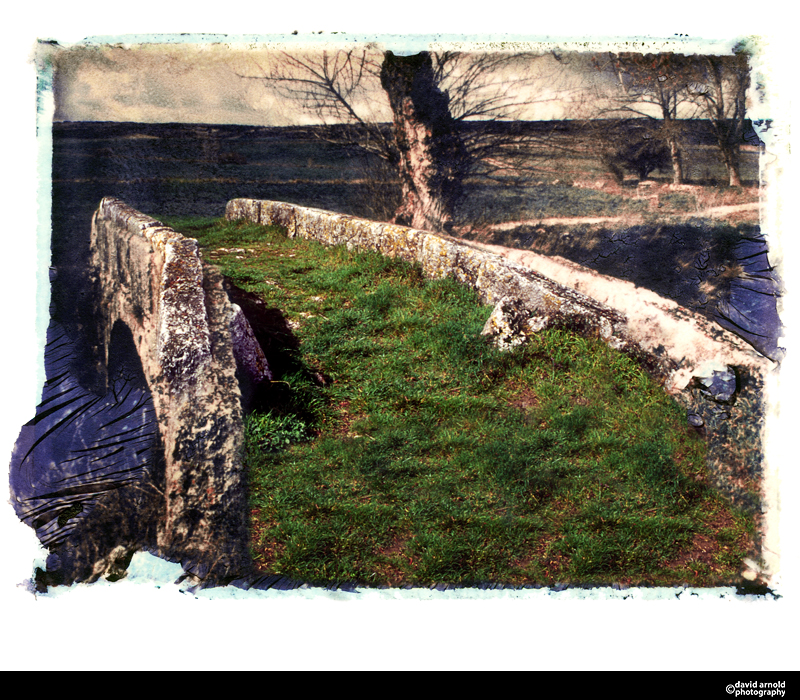 Bridge, Camino De Santiago, near Ages Spain