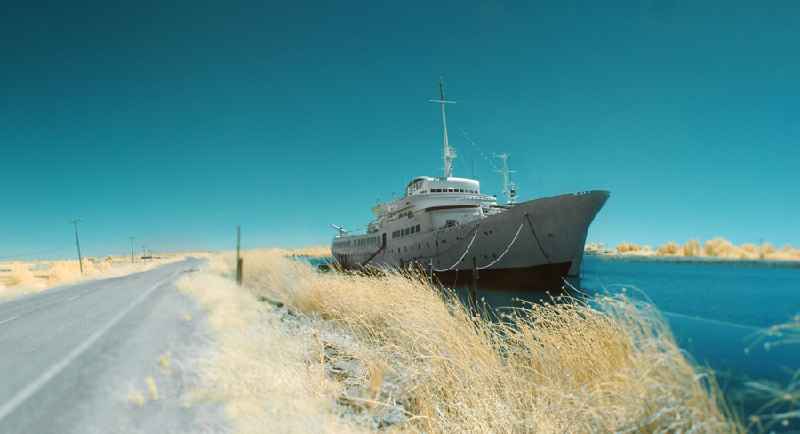 MS Aurora on Dead End Road