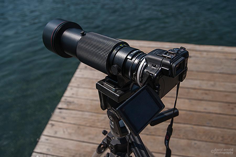 Lumix G3 with Tokina 150-500mm
