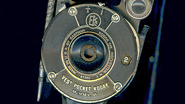 The Kodak Vest Pocket B lens