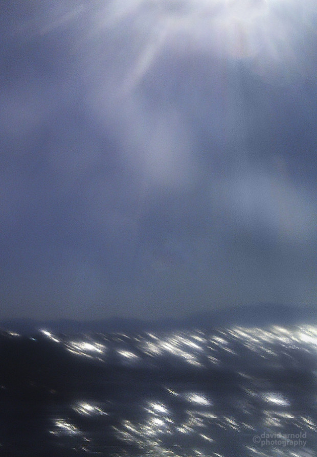 Breaking Wave and Sky, Chimney Beach, Lake Tahoe, Nevada