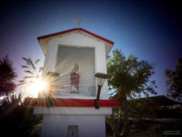 Shrine Near Santa Rita, Highway 1, Baja California Sur, Mexico