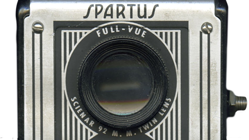 Viewing Lens, Spartus Camera