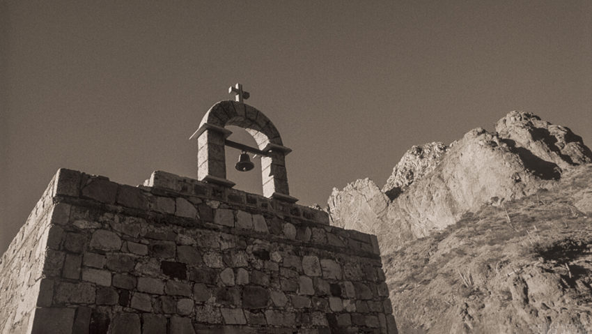 Roadside Chapel, Road to San Javier