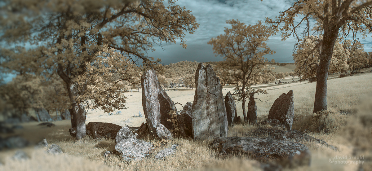Large Stones, Southern Slope, Tombstone Rocks, Spenceville Wildlife Area