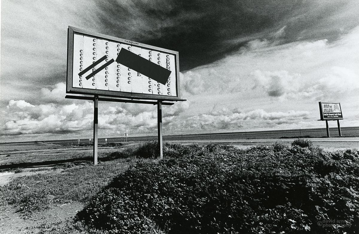 Three Black Bars, Highway 41, Kettleman City, Callifornia