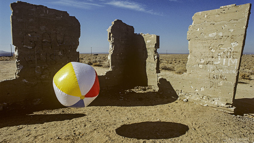 Beach Ball, Mojave Desert Ruin