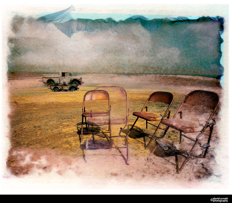 Abandoned Chair and Truck, Santa Cruz Island, California