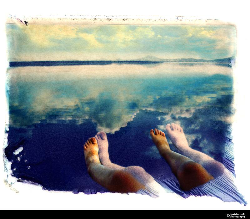 Legs and Feet, Klamath Lake, Oregon
