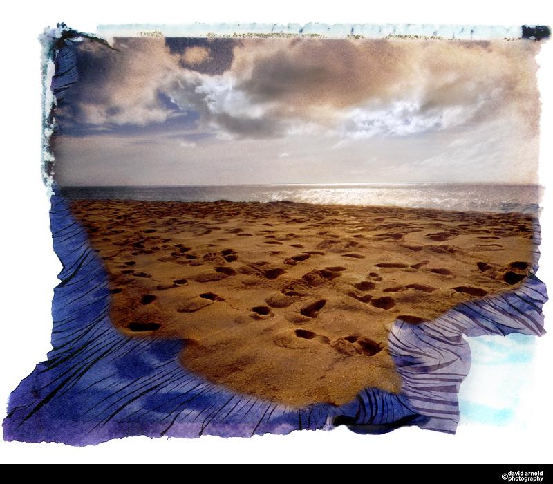 Footprints, North Shore, Oahu, Hawaii