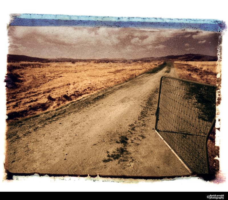 Open Gate, Honey Lake, California