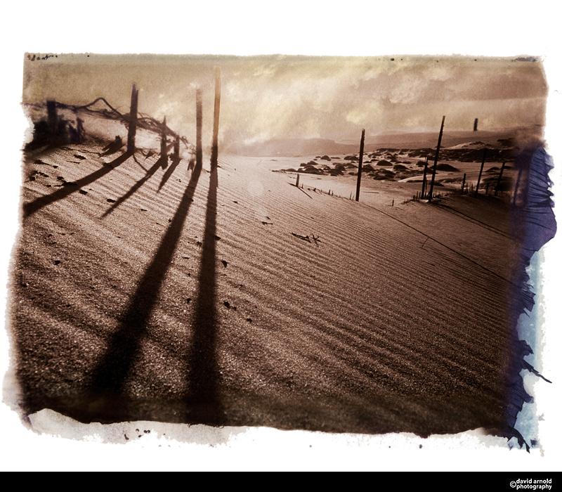 Abandoned Fence, Laguna Dunes, California