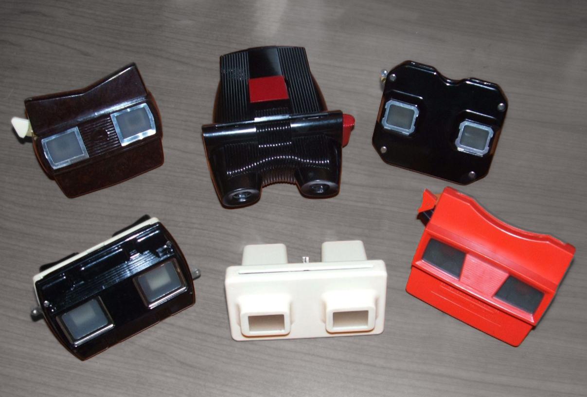 Some 20th Century Stereo Slide Viewers, IlPasseggero