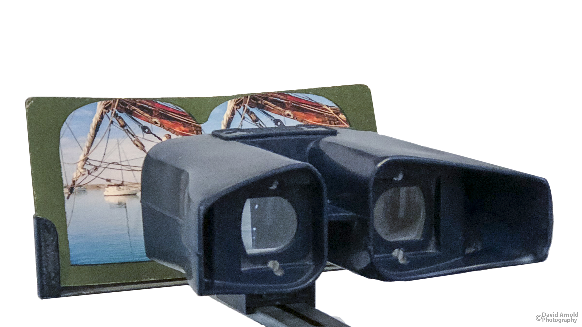 Keystone Televiewer Stereoscope