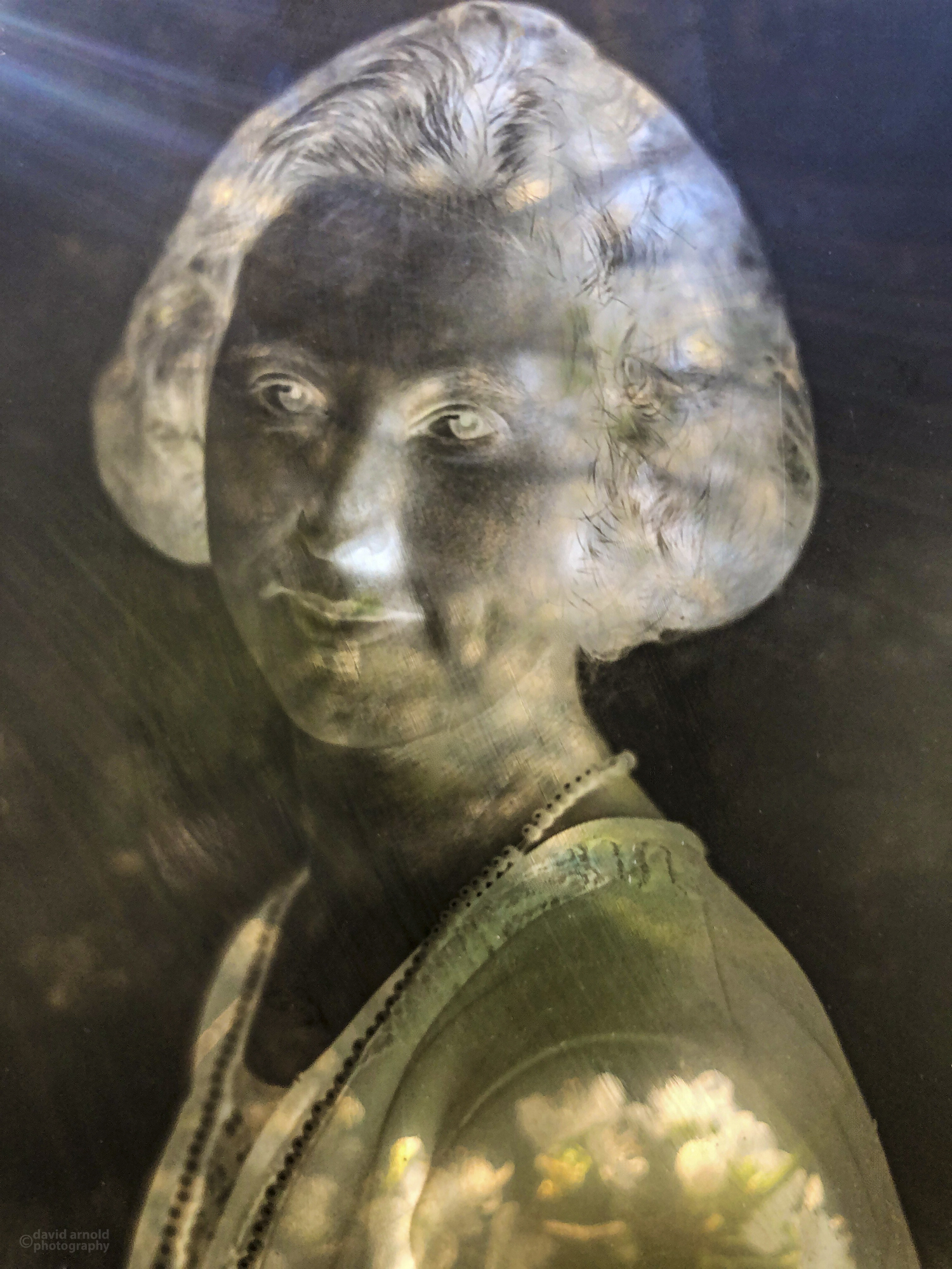 Silver Silver Gelatin Glass Plate Portrait (5)