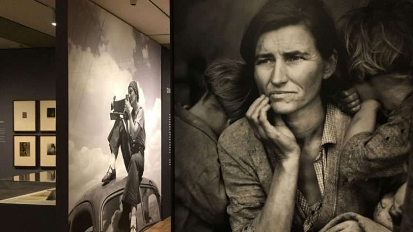 Dorothea Lange Exhibition. Oakland California