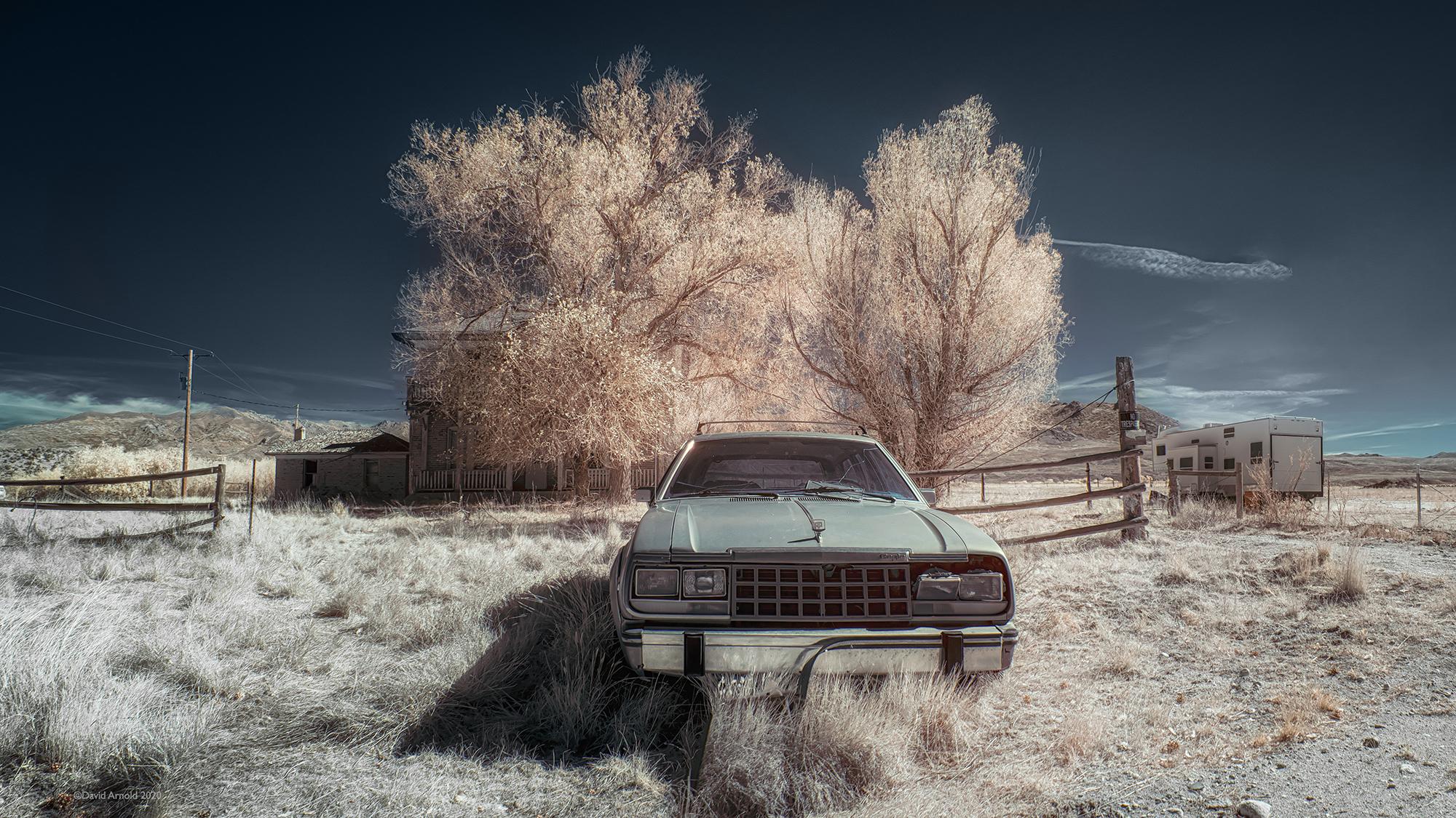 Abandoned Eagle, Jiggs, Nevada