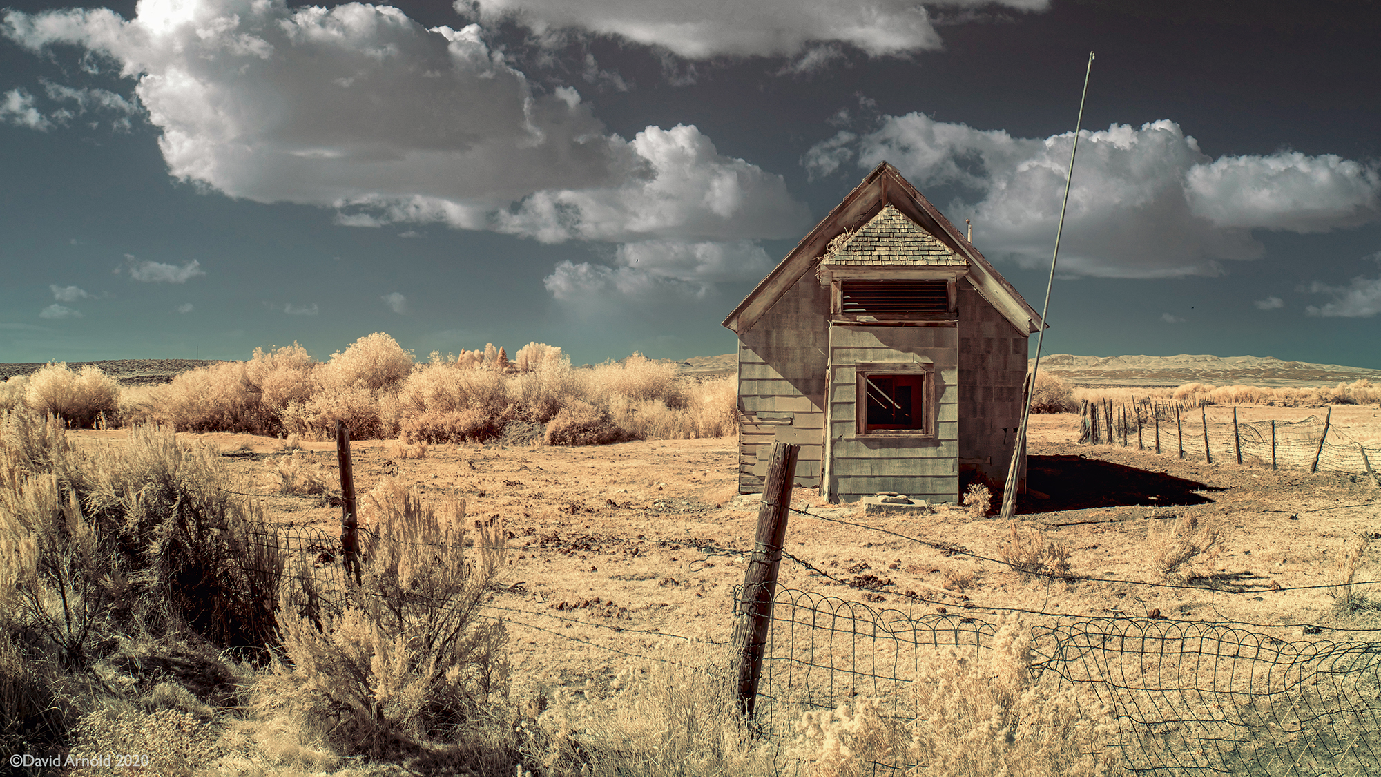 Abandoned School House, Jiggs, Nevada