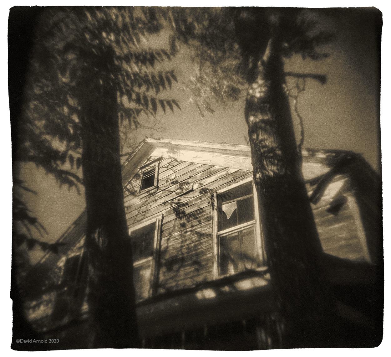 Two Pines, Window, Chinese Camp, Tuolumne County, California