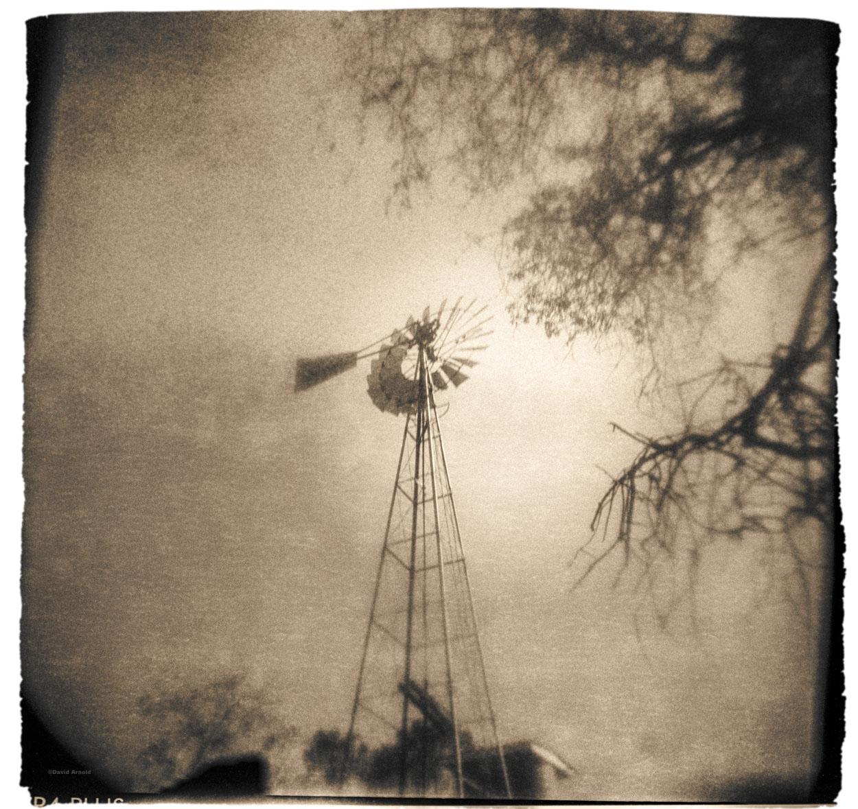 Windmill, Chinese Camp, Tuolumne County, California.