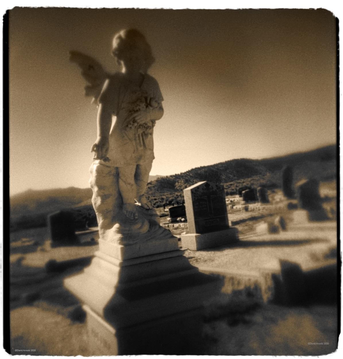Angel, Vinton Cemetery, Plumas County, California