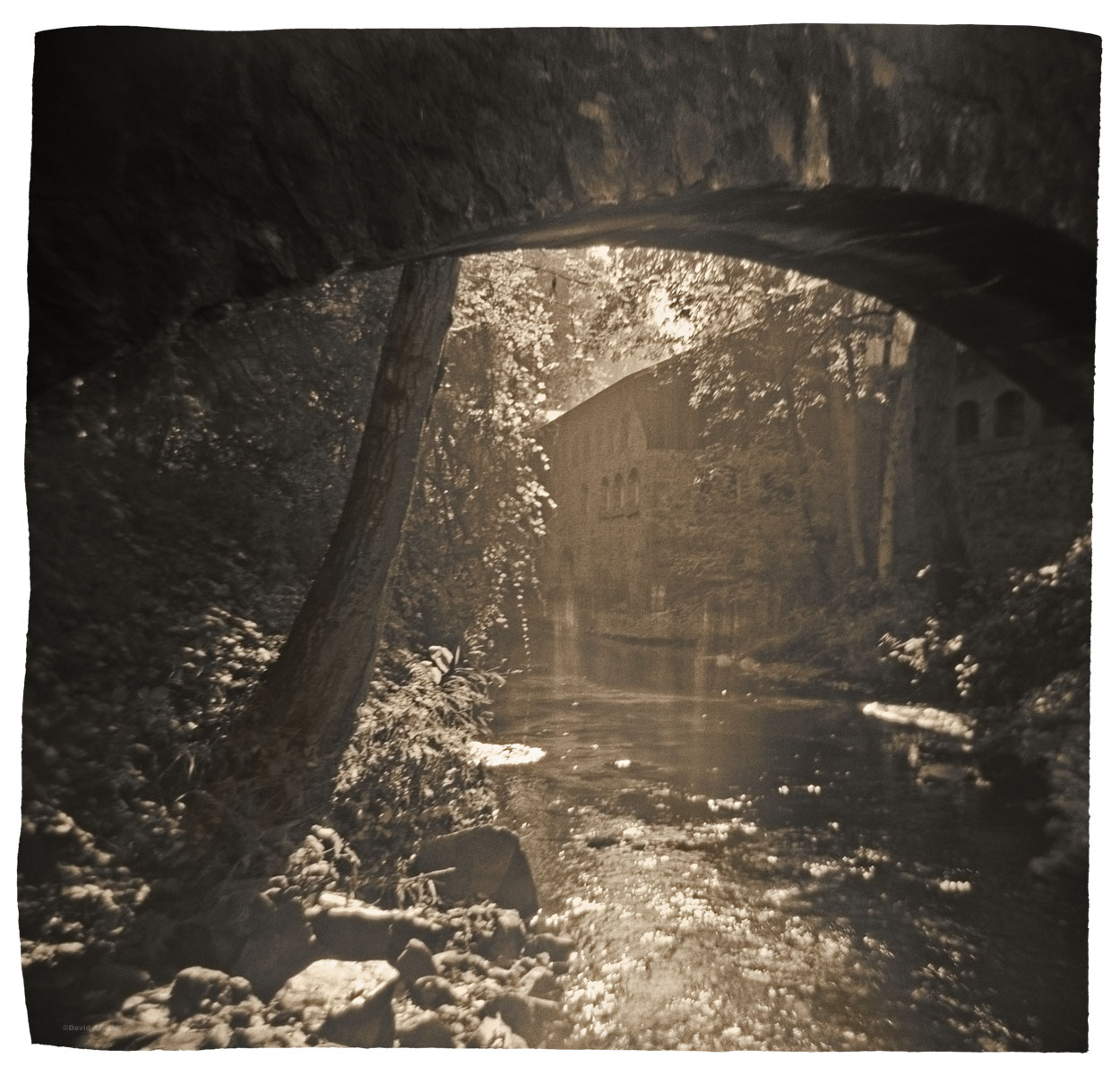 Wolfe Creek, North Star Mine, Grass Valley, Nevada County, California
